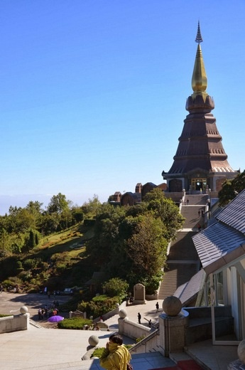 お寺 ここからの眺望が一番良かった